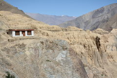 Lamayuru wioska w Ladakh Fotografia Stock
