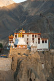 Lamayuru or Yuru Gompa, Kargil District, Western Ladakh, India. Lamayuru or Yuru Gompa, a Tibetan Buddhist Gompa (monastery) in Kargil District, Western Ladakh Royalty Free Stock Image