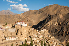 Lamayuru or Yuru Gompa, Kargil District, Western Ladakh, India. Lamayuru or Yuru Gompa, a Tibetan Buddhist Gompa (monastery) in Kargil District, Western Ladakh Royalty Free Stock Images