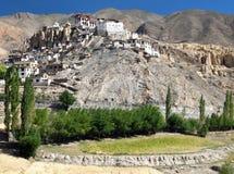 Lamayurugompa - boeddhistisch klooster in Indus-vallei - Ladakh royalty-vrije stock foto