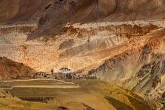 Lamayuruklooster - Ladakh, J&K, India Royalty-vrije Stock Afbeeldingen