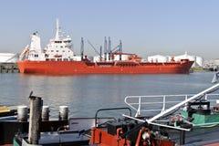 σκάφος λιμενικού πετρε&lamb Στοκ Εικόνα