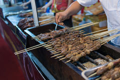 Lamb barbecue Royalty Free Stock Photos