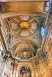 Lamb Ceiling SS Vincenzo E Anastasio Church Rome Italy Stock Image