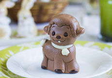 Lamb Chocolate Royalty Free Stock Images