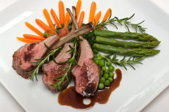 Lamb Chop Stock Photography
