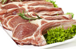 Lamb chop Stock Photography
