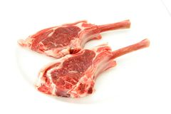 Lamb chop Stock Photos