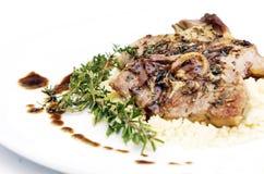 Lamb chop Royalty Free Stock Image