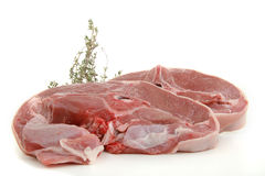 Lamb chop Royalty Free Stock Image