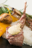 Lamb Chop dinner Royalty Free Stock Photo
