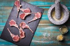 Lamb Chop Royalty Free Stock Photography