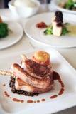 Lamb chop steak Stock Image