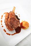 Lamb chop steak Royalty Free Stock Photo