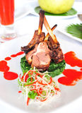 A Lamb Chop Steak Stock Image
