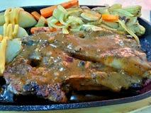 Lamb Chop, Lamb Roast Stock Photography