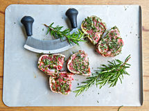 Lamb chops Stock Image