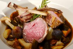 Lamb chops Royalty Free Stock Image