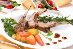 Lamb chops Royalty Free Stock Photography