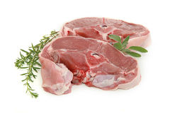 Lamb chops Stock Photography