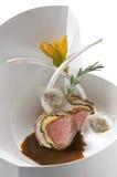 Lamb Chops with Gravy Stock Photo