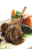 Lamb Chops grilled Stock Images