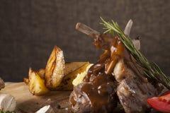 Lamb chops Royalty Free Stock Photography