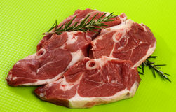 Lamb Chump Chops Royalty Free Stock Image