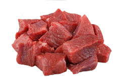 Lamb cubes Royalty Free Stock Images