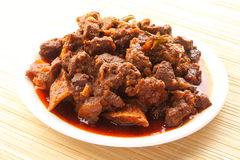 Lamb curry Royalty Free Stock Photos