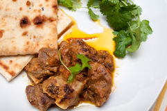 Lamb curry ready to eat Royalty Free Stock Images