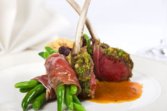 Lamb cutlet Stock Photo