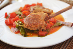 Lamb cutlets Stock Photos
