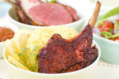 Lamb Cutlets Royalty Free Stock Photography
