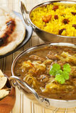 Lamb Dhansak Indian Curry Stock Photos