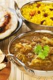 Lamb Dhansak Indian Curry Stock Photos