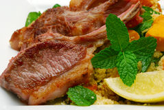 Lamb dish Royalty Free Stock Photography