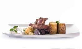 Lamb dish Stock Images