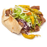 Lamb Doner kebab Stock Images