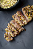 Lamb with Dukkah Stock Photography