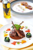 Lamb fo lunch royalty free stock photos