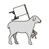 Lamb of god symbol Royalty Free Stock Photography
