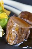 Lamb with gravy Royalty Free Stock Images