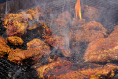 Lamb Grill Stock Photography