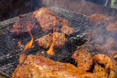 Lamb Grill Royalty Free Stock Photos