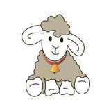 Lamb. This image is a  illustration and can be scaled to any size without loss of resolution Royalty Free Stock Photography