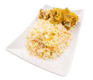 Lamb Kabsa III. Lamb Kabsa rice. A popular traditional Middle Eastern cuisine Stock Photos