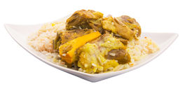 Lamb Kabsa. Rice. A popular traditional Middle Eastern cuisine Stock Images