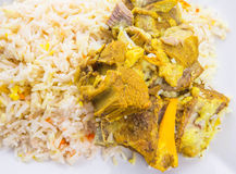Lamb Kabsa VI Royalty Free Stock Photography