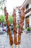 Lamb Kebab Arkivfoto